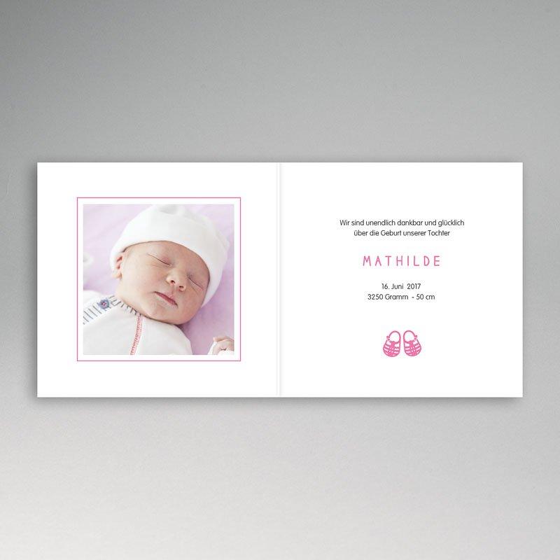 Geburtskarten für Mädchen Sommer und Strand pas cher
