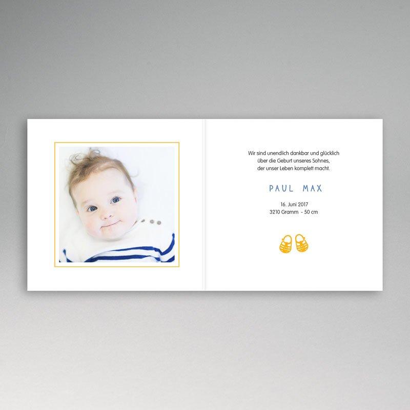 Geburtskarten für Jungen Sandalen pas cher