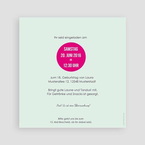 Erwachsener Einladungskarten Geburtstag Geburtstagskuchen pas cher