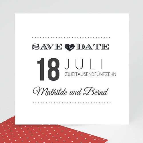 Save The Date  - Antidater 43671