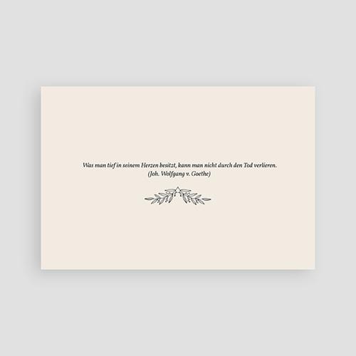 Weltlich Dankeskarten Trauer Ahorn pas cher