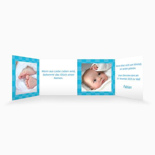 Geburtskarten für Jungen - Aufsteller 4381 thumb