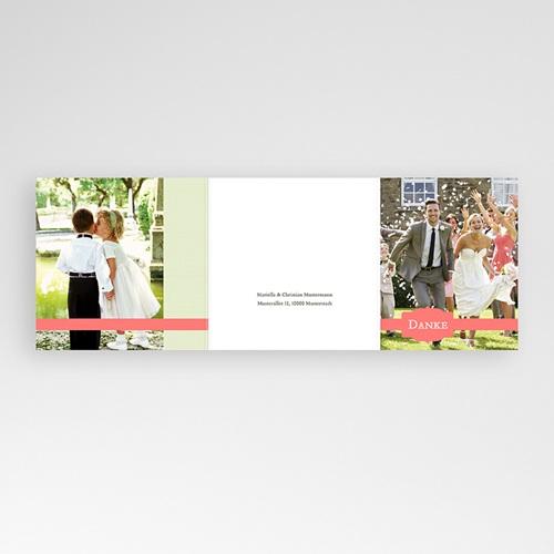 Danksagungskarten Hochzeit  Makrönchen gratuit