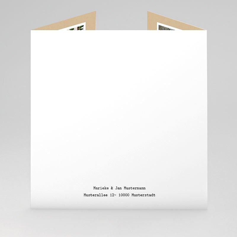 Originelle Dankeskarte Hochzeit  - Liebesglück 43864 thumb