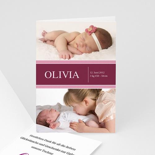 Geburtskarten für Mädchen - Drieda 439