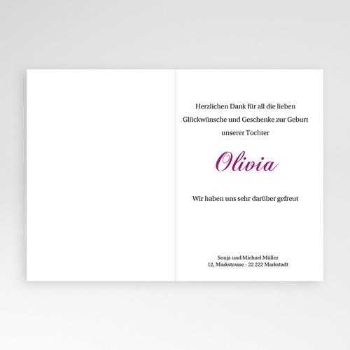 Geburtskarten für Mädchen - Drieda 440 test