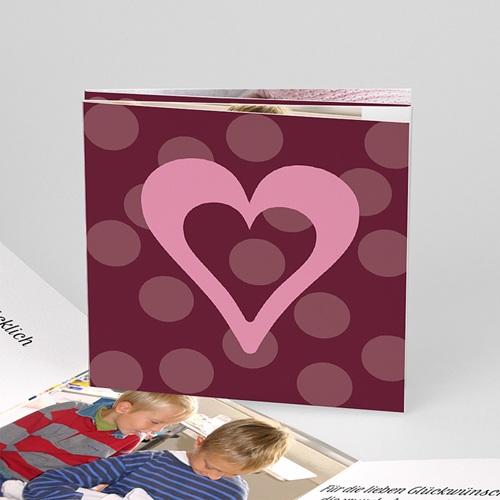 Geburtskarten für Mädchen - Entstehende Liebe 4400