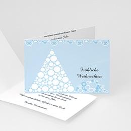 Weihnachtskarten - Schneepyramide - 1