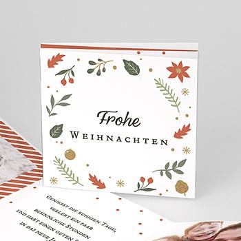 Weihnachtskarten - Stimmiger Weihnachtsstern - 1