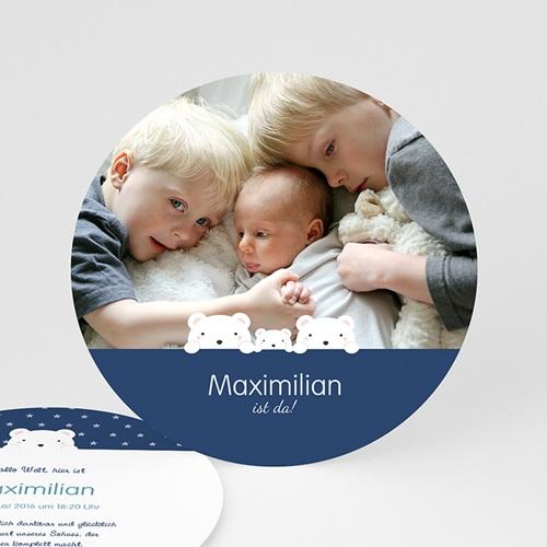 Babykarten für Jungen - 3 Bären 44204