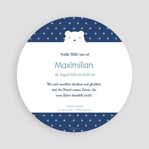 Geburtskarten mit Bär 3 Bären pas cher