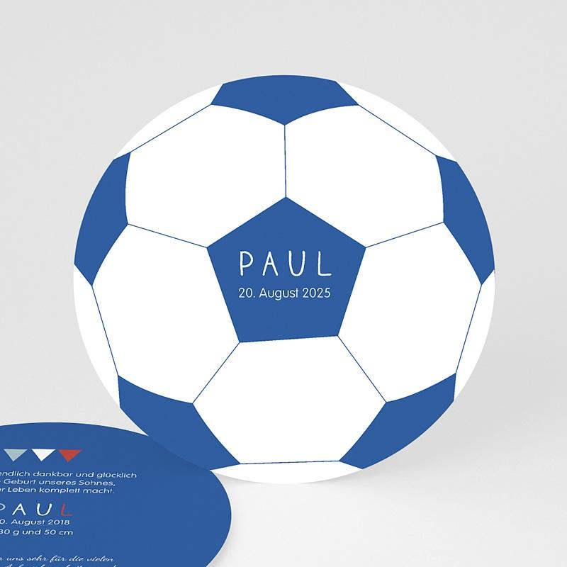 Geburtskarten für Jungen Fussball
