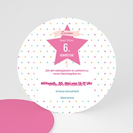 Geburtstagseinladungen Mädchen - Prinzessin - 0