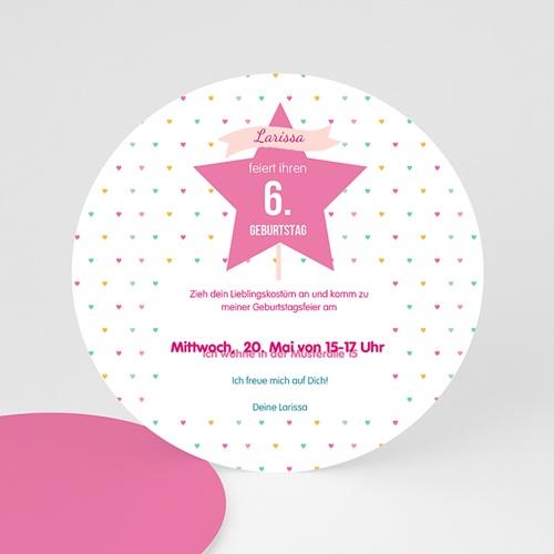 Geburtstagseinladungen Mädchen - Prinzessin 44244