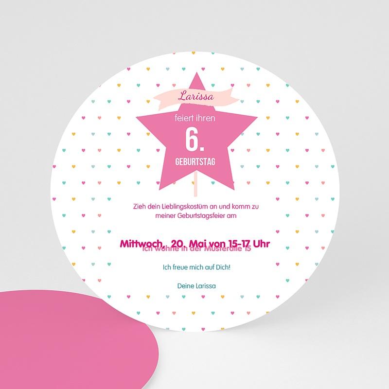 Einladungskarten Geburtstag Mädchen Prinzessin