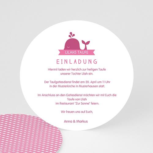 Einladungskarten Taufe Mädchen Ozean Cartelandde