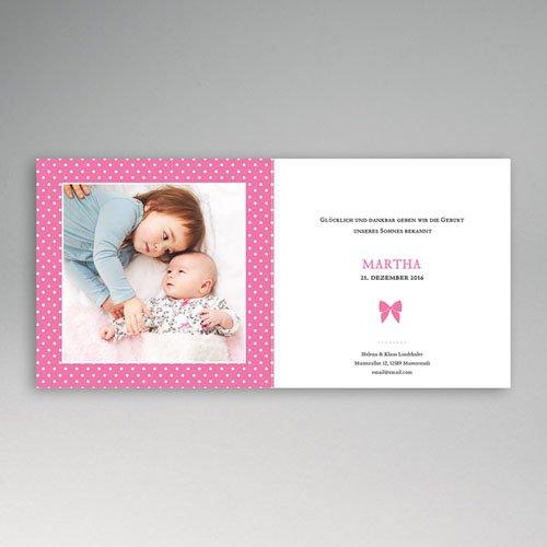 Geburtskarten für Mädchen - Elegant 44283 preview