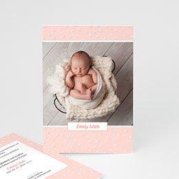 Geburtskarten für Mädchen - Pure Love - 0
