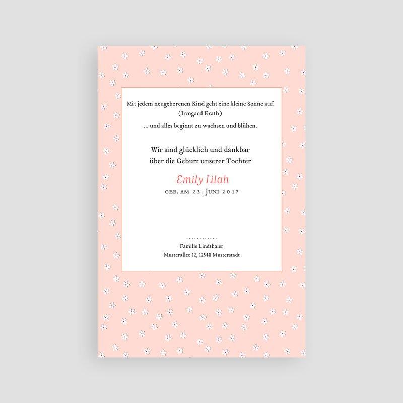 Geburtskarten für Mädchen Pure Love pas cher