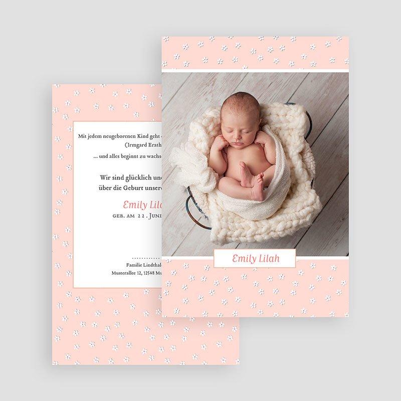 Geburtskarten für Mädchen Pure Love gratuit