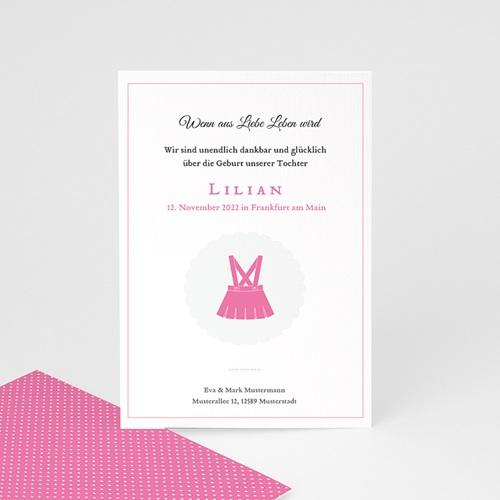 Geburtskarten für Mädchen - Little Lady 44306