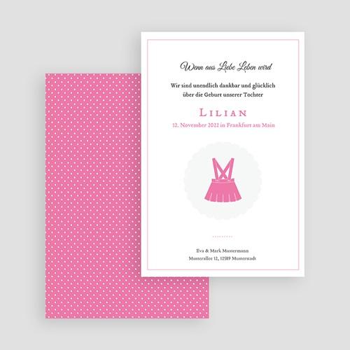 Geburtskarten für Mädchen - Little Lady 44308 test