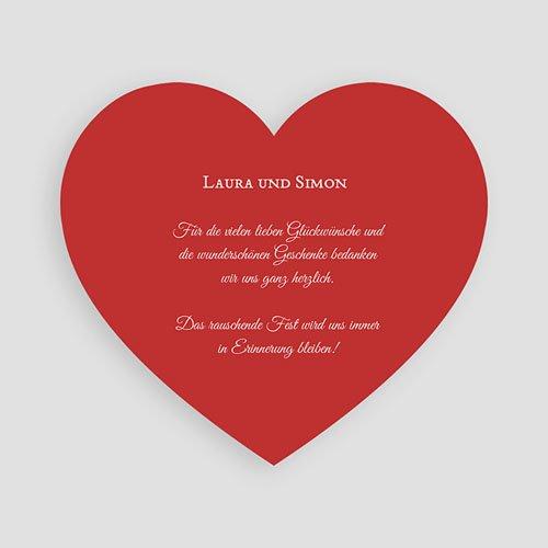 Originelle Dankeskarte Hochzeit  - Malerisch 44349 preview