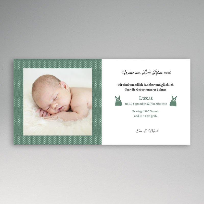 Geburtskarten für Jungen Lausbub pas cher