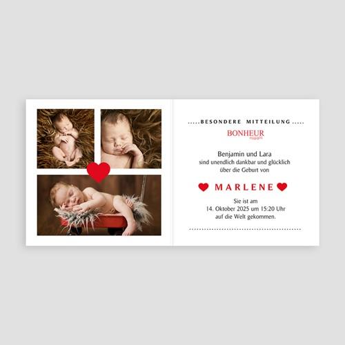 Geburtskarten für Mädchen - Glücksmagazin 44377 thumb