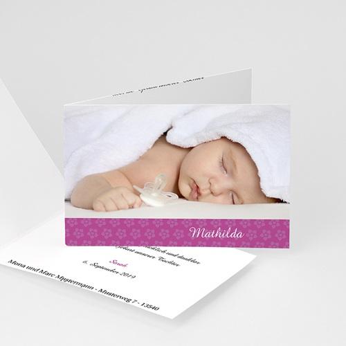Geburtskarten für Mädchen - Delilah 4438
