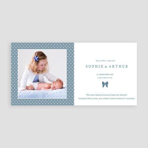 Babykarten für Jungen - Retro Blau 44383 test
