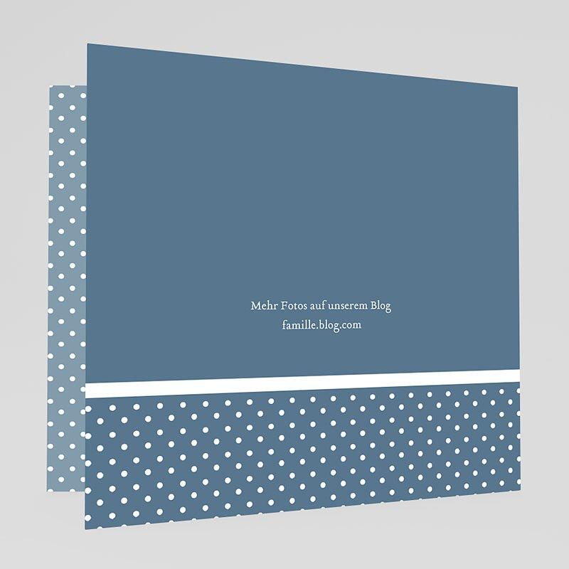 Geburtskarten für Jungen Retro Blau gratuit