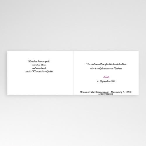 Geburtskarten für Mädchen - Delilah 4439 preview