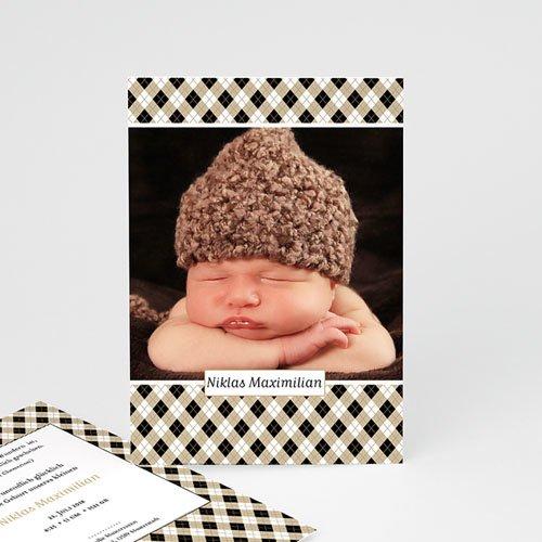 Geburtskarten für Jungen Baby Chic