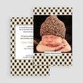 Geburtskarten für Jungen Baby Chic gratuit