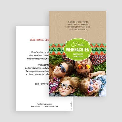 Weihnachtskarten - Schnee Glanz 44420 preview