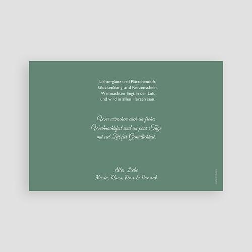 Weihnachtskarten - Zapfen 44443 test