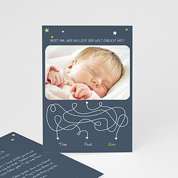 Geburtskarten für Jungen - Ratet mal - 0
