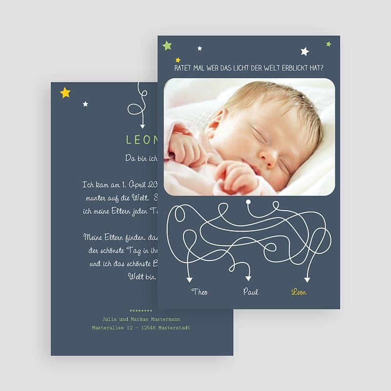 Geburtskarten für Jungen Ratet mal gratuit