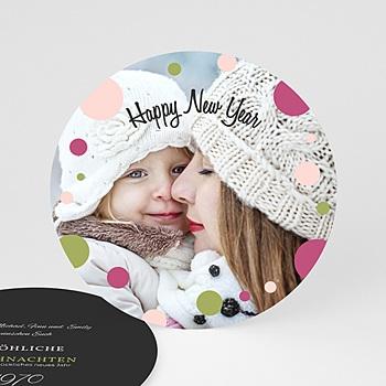 Weihnachtskarten - Glamour und Glitter - 0