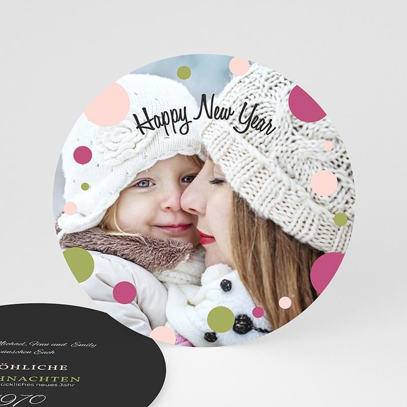 Weihnachtskarten - Glamour und Glitter 44457 thumb