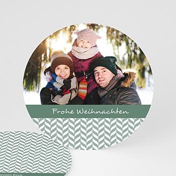 Weihnachtskarten - Blättermotiv - 0