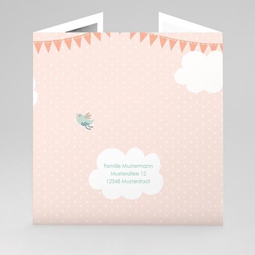 Geburtskarten für Mädchen Wolkenreich gratuit