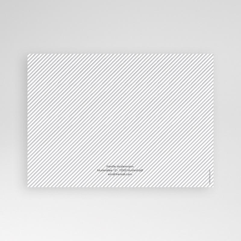 Geburtskarten für Jungen Schwarz-Weiss Aufnahme pas cher