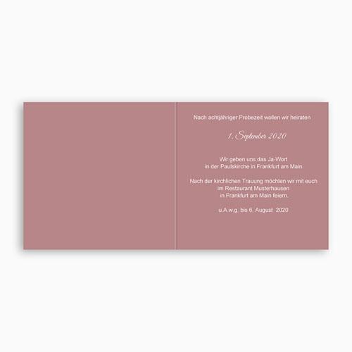 Hochzeitseinladungen modern - Roller 44564 preview