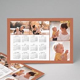 Kalender Loisirs Weihnachtliche Farben