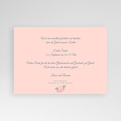 Geburtskarten für Mädchen - Blumig 44608 preview