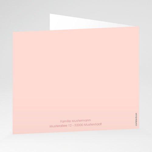 Geburtskarten für Mädchen Made with Love gratuit