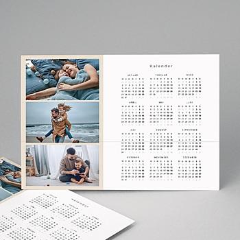 Kalender Jahresplaner - Jahresplaner farbig - 2