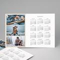 Kalender Jahresplaner Drei Fotos - beige